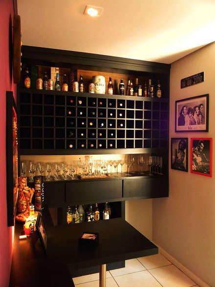 قبو النبيذ تنفيذ THACO. Arquitetura e Ambientes