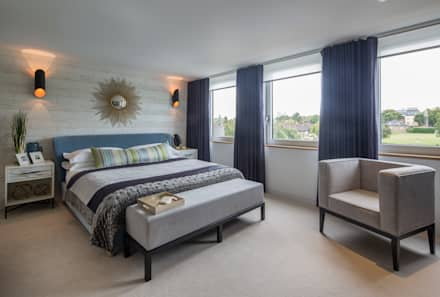 Argyll Place - Master Bedroom: modern Bedroom by Jigsaw Interior Architecture