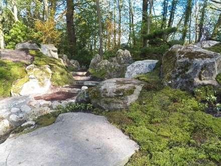 Japan Garten Seminar Mai 2015: asiatischer Garten von Kokeniwa Japanische Gartengestaltung