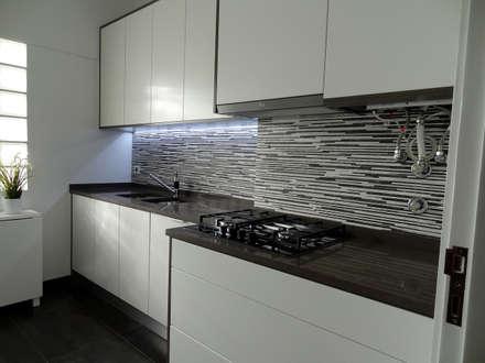 Remodelação de Apartamento, Braço de Prata : Cozinhas modernas por Happy Ideas At Home - Arquitetura e Remodelação de Interiores