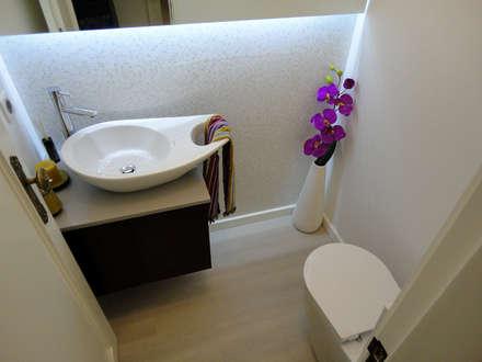 ห้องน้ำ by Happy Ideas At Home - Arquitetura e Remodelação de Interiores