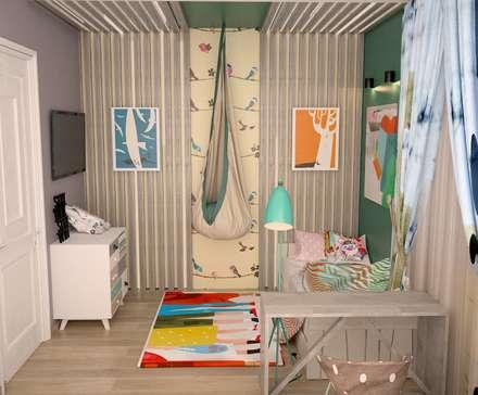 Квартира в современном провансе: Детские комнаты в . Автор – DS Fresco