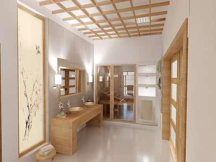 asian Bathroom by INTUS DeSiGn