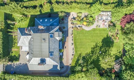 Residential Aerial:  Hotels by The Airborne Lens Company, Ltd