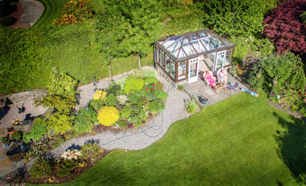 Garden Aerial:  Hotels by The Airborne Lens Company, Ltd