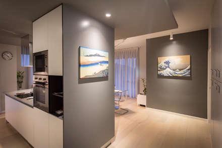 2BE OPEN-SPACE: Ingresso & Corridoio in stile  di davide pavanello _ spazi forme segni visioni