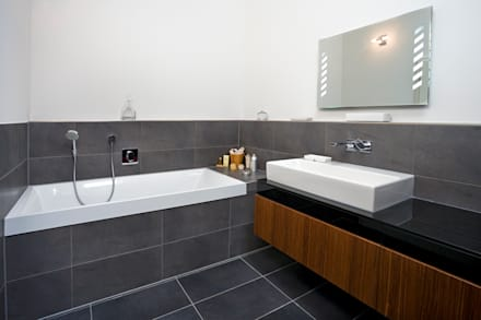 bathroom modern bathroom by baufritz uk ltd