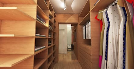modern Dressing room by Maxma Studio