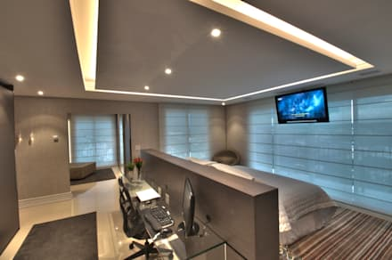 Master Bedroom: Quartos  por Pauline Kubiak Arquitetura