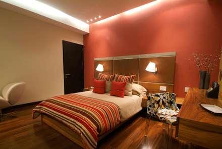 ห้องนอน by DIN Interiorismo