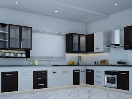 Merveilleux Kitchen Designs: Modern Kitchen By I Nova Infra