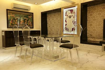 Interior Designs: modern Dining room by Ornate Consultants