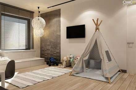 N.M. House: styl , w kategorii Pokój dziecięcy zaprojektowany przez OMCD Architects