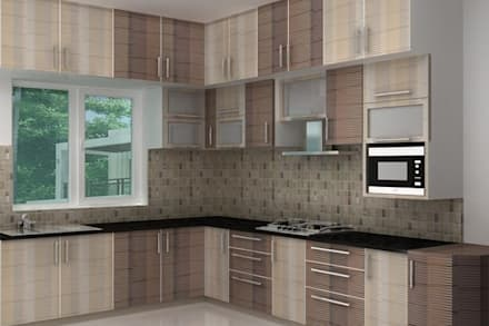 Kitchen Designs Modern By Splendid Interior Designers Pvt Ltd