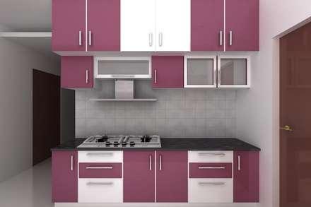 Kitchen designs: modern Kitchen by Splendid Interior & Designers Pvt.Ltd