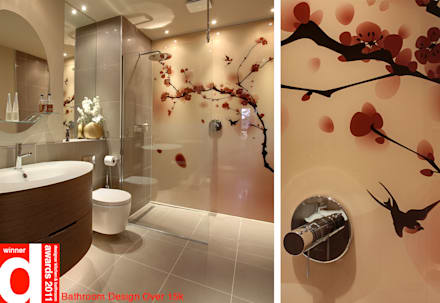 Japanese Bathroom Design: asian Bathroom by Design Republic Limited