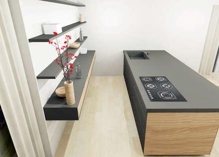 Cucina bd home.: Cucina in stile in stile Moderno di Build Design