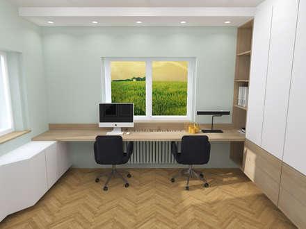bureau scandinave id es inspiration homify. Black Bedroom Furniture Sets. Home Design Ideas