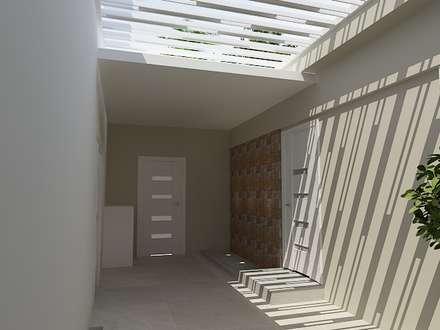 Diseño de proteccion exterior: Casas de estilo minimalista de Arte 5 Remodelaciones