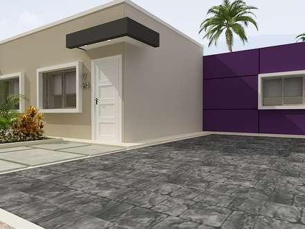 minimalistic Houses by Arte 5 Remodelaciones
