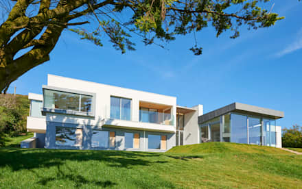 Sandhills Exterior: modern Houses by Barc Architects