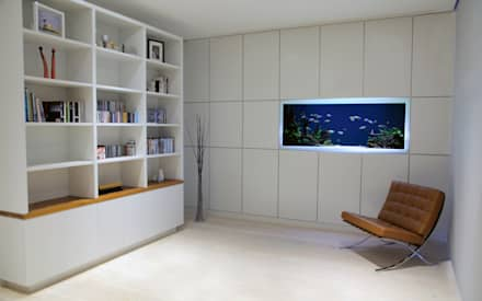 Vitro House: minimalistic Study/office by Aquarium Architecture