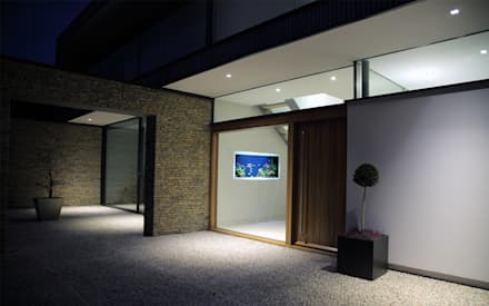 Vitro House:  Terrace by Aquarium Architecture