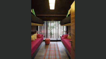 minimalistic Nursery/kid's room by homify