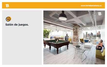 Torre Barcelona: Comedores de estilo moderno por HMA Desarrolladores De Proyectos