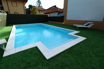 classic Pool by Gloria Chindamo Ingegnere Architetto
