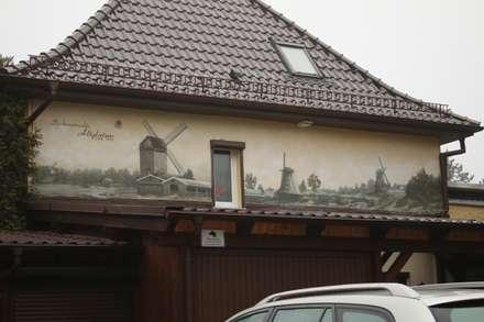 Fassade auf alt gemacht:  Museen von  Wandgestaltung Graffiti Airbrush von Appolloart