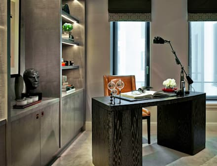 Study : eclectic Study/office by LINLEY London