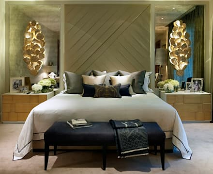 Bedroom : eclectic Bedroom by LINLEY London