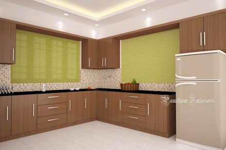 Kitchen design ideas inspiration images homify for Interior design images kitchen