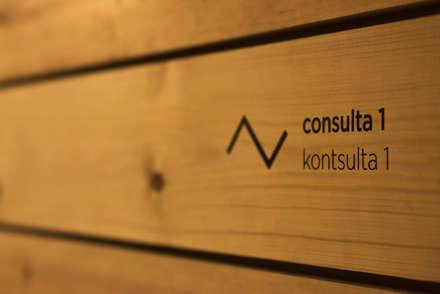 Proyecto de reforma de local comercial en Iñigo De Loyola Kalea – Irun (Gipuzkoa): Clínicas de estilo  de BAAJ Arquitectos