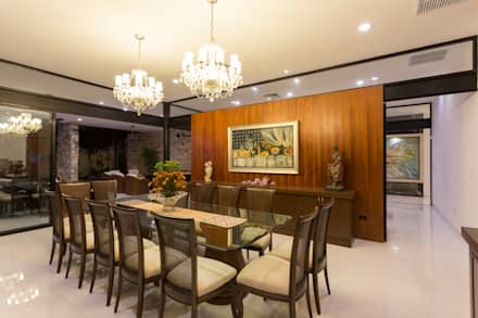 Casa O44: Comedores de estilo moderno por P11 ARQUITECTOS