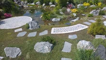 สวน by Neues Gartendesign by Wentzel