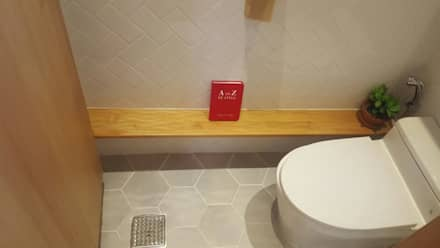루트주택 32호 : 루트 주택의  화장실