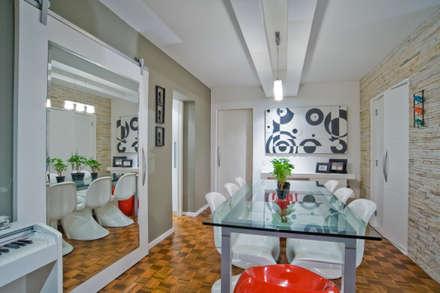 Salas : Salas de jantar modernas por Patrícia Azoni Arquitetura + Arte