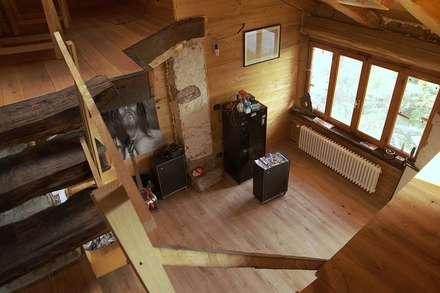 casa del conte - 2013: Studio in stile In stile Country di architetto Davide Fornero