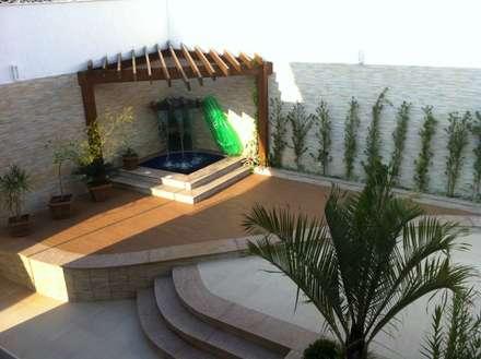 Hồ bơi by Solange Figueiredo - ALLS Arquitetura e engenharia