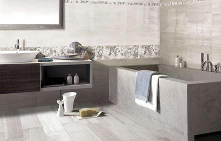 metropolitan bagno in stile in stile moderno di ceramiche brennero spa