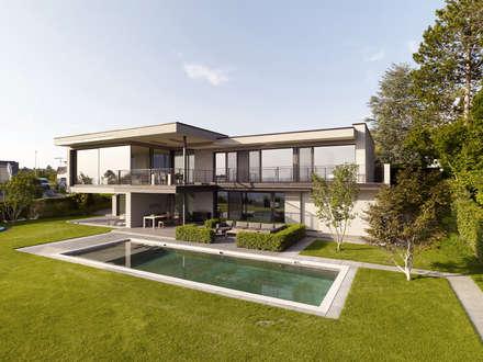 Objekt 329: Piscine de style de style Moderne par Meier Architekten GmbH