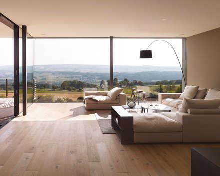 رہنے کا کمرہ  by meier architekten
