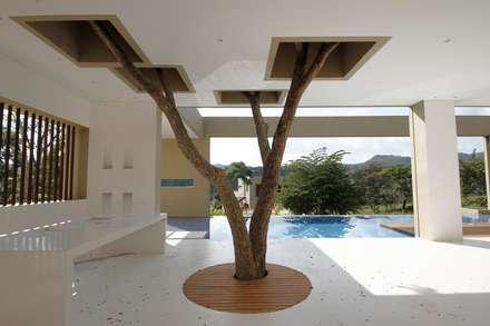 Kubik Aqua, Anapoima, Colombia: Casas de estilo moderno por Kubik Lab