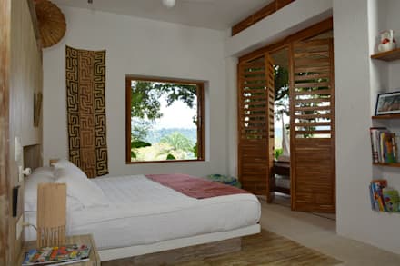Kubik Aqua, Anapoima, Colombia: Habitaciones de estilo moderno por Kubik Lab