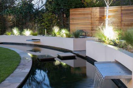 Cool but Funky, Contempoary Garden: modern Garden by Yorkshire Gardens