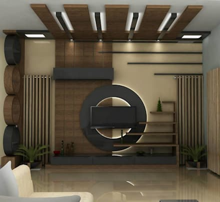 Superb Living Area Designs: Modern Living Room By Single Pencil Architects U0026  Interior Designers