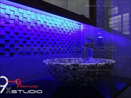 Bathroom designs: modern Bathroom by Desig9x Studio