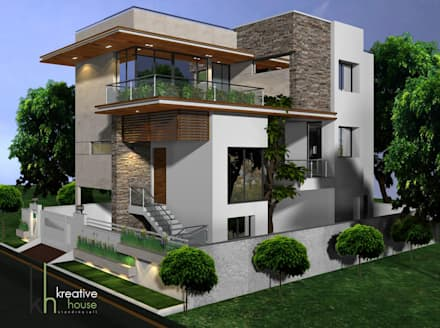 Modern style house design ideas pictures homify for Modern home builder magazine